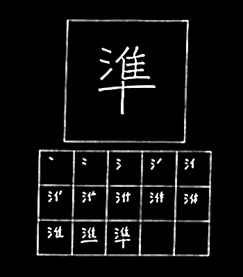 kanji standar