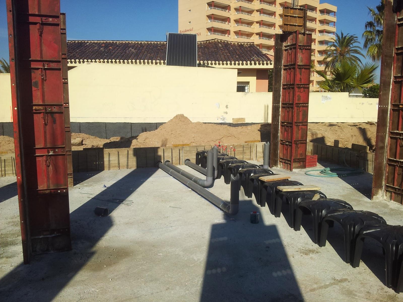 Fggd arquitectura proyectos villa gawy - Forjado sanitario caviti ...