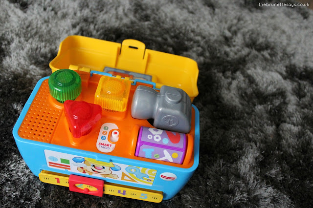 Fisher Price, Smart Stages, Toy toolbox, baby toys, gifts for 1 year old