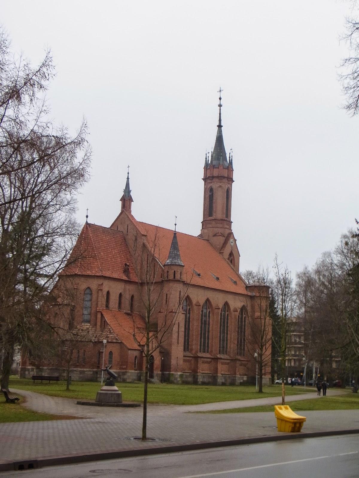Костёл Пресвятой Девы Марии Шкаплерной, костел, Друскининкай, Литва