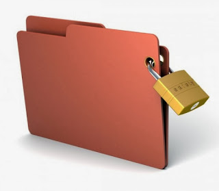 cara memberi password folder