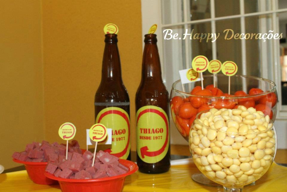 Be.Happy Decora??es: Festa Boteco Skol