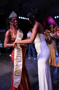 Reina del Carnaval del Fuego 2013