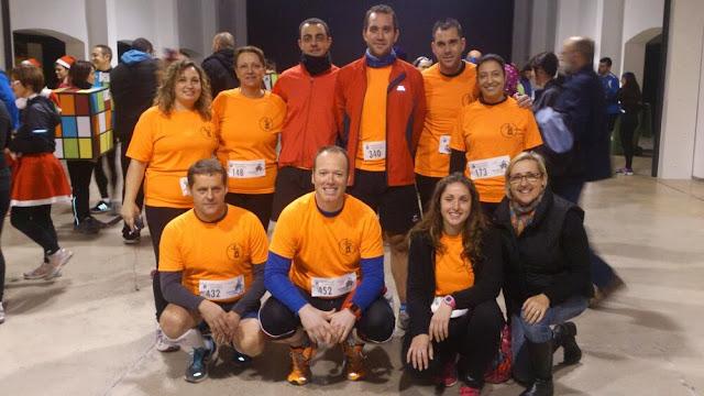 Grupo Enganxa't a Correr en San Silvestre Ondara