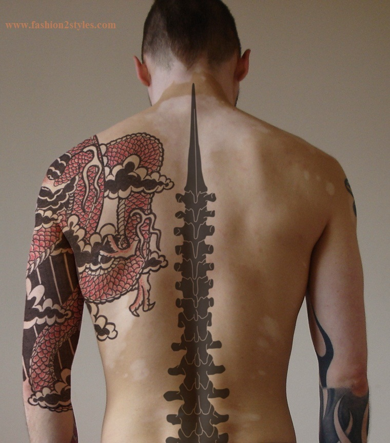 galeria detatu tattoos for men on back. Black Bedroom Furniture Sets. Home Design Ideas