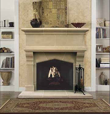 Old World Walls: Old World Fireplace