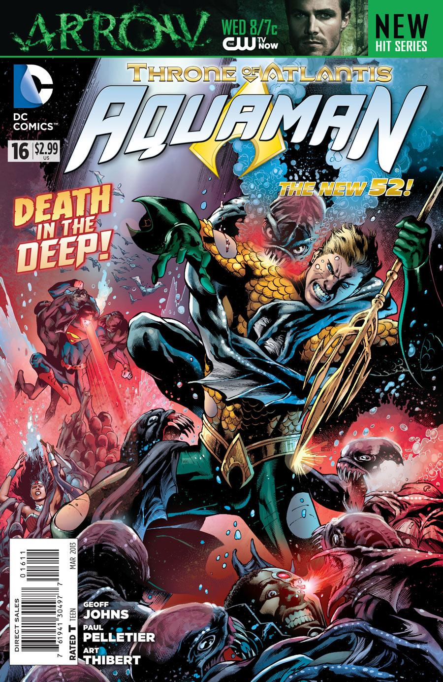 daddy rolled a 1 new comics wednesday aquaman new 52