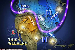 >Arctic Air That Will Shiver and Shock Both Northeast Sunday and Plains Next Week! Snow in Alexandria, Egypt