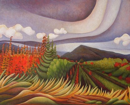 Juhli Caldwell- Artist, Canadian Painter