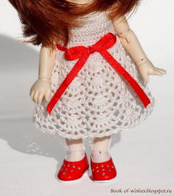 платье крючком для pukiFee