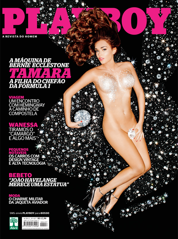 Tamara Ecclestone Nua Pelada Na Playboy De Maio
