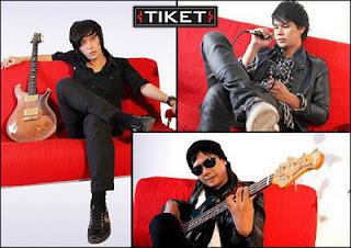 kunci+gitar+Tiket+band+arti+cinta+lirik