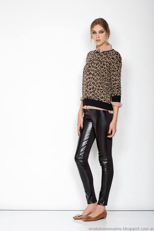 Janet Wise invierno 2014 moda.