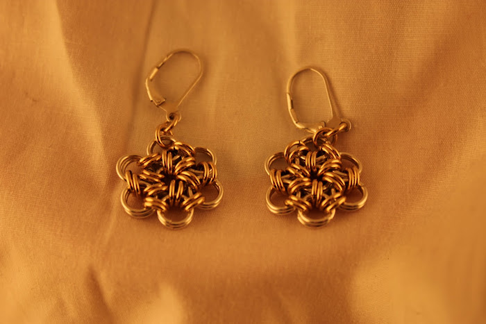 Daisy Lever Back earrings