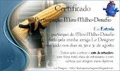 Meu certificado lindo!!!! Amei!!!