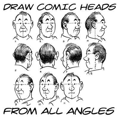 How To Draw Comic Heads