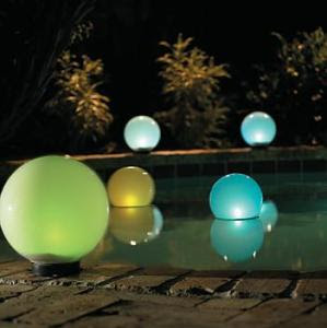 Magic Globe Floating Solar Lights
