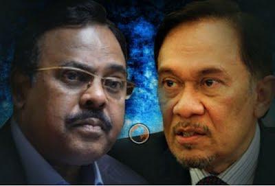 yang membawa jalang dan memudahkan pertemuan Anwar Ibrahim dengan