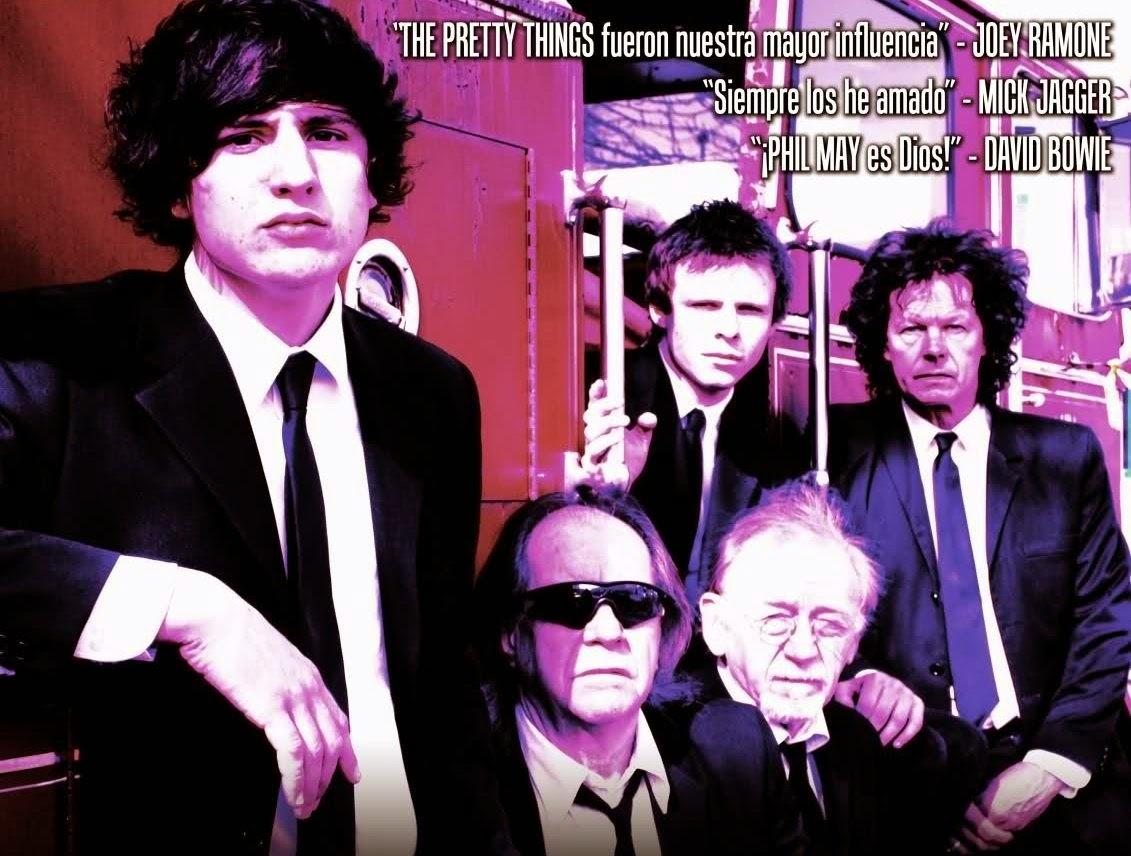 Nueva gira octubre 2014 de los Pretty Things por España