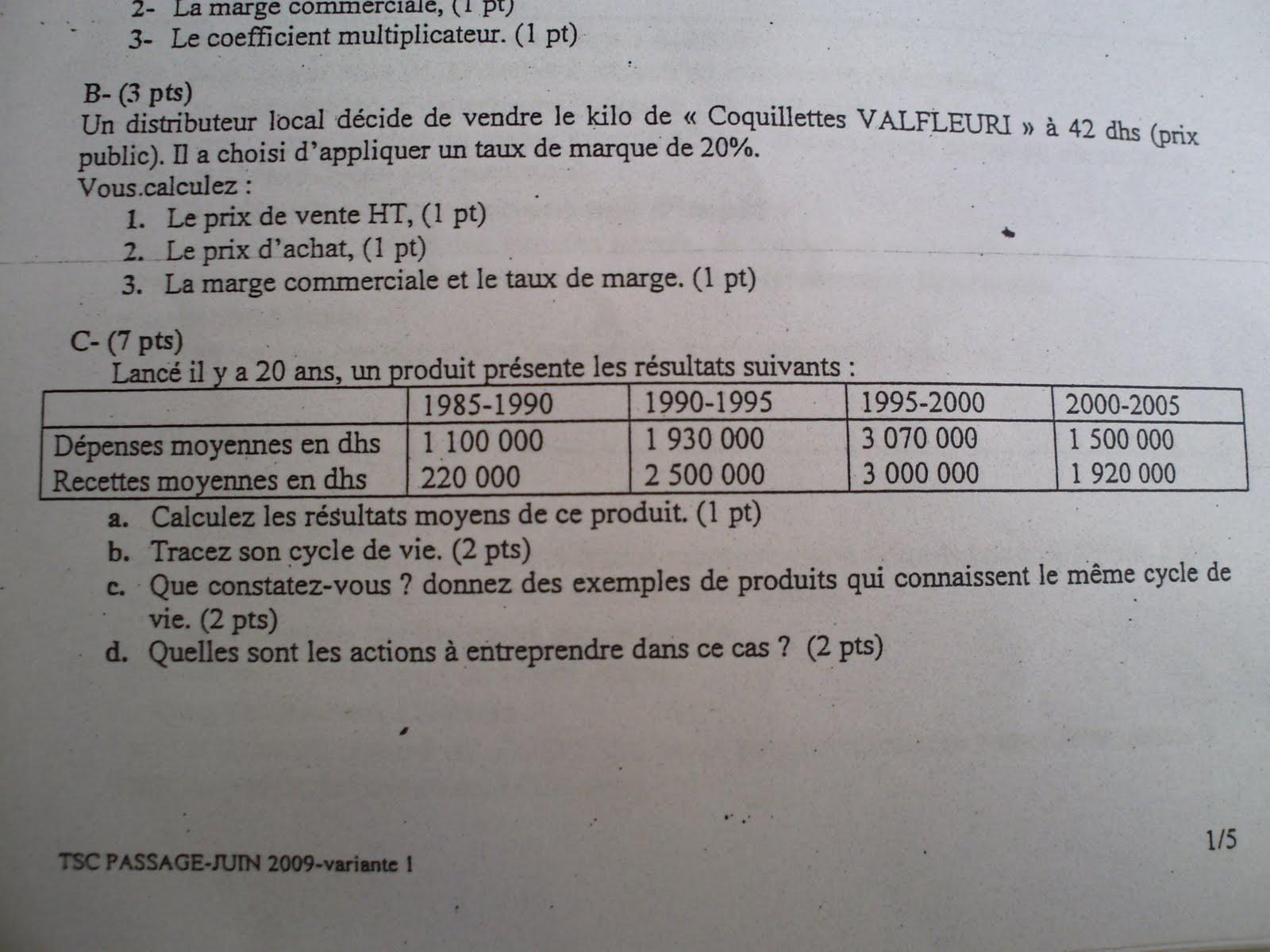 Examen de passage 2009 Pratique variante 1 TSC PICT0031