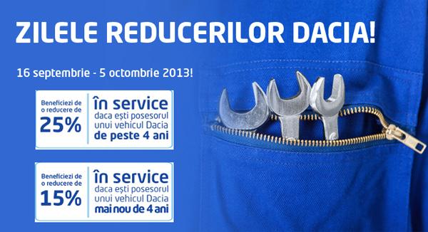 Zilele Reducerilor Dacia