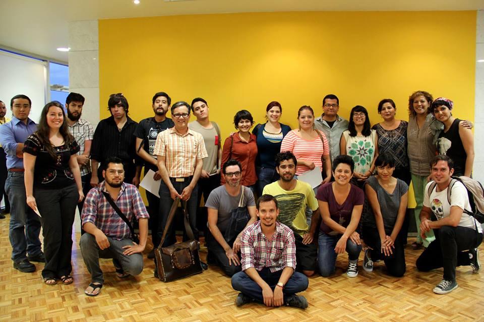 Haizea Barcenilla y participantes de la primera clínica de Espacios ...