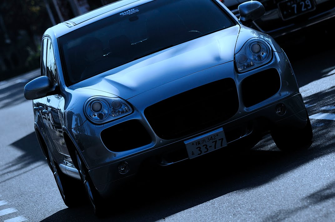 955 Cayenne Sports Classic  & 955 GT グリルの組み合わせ