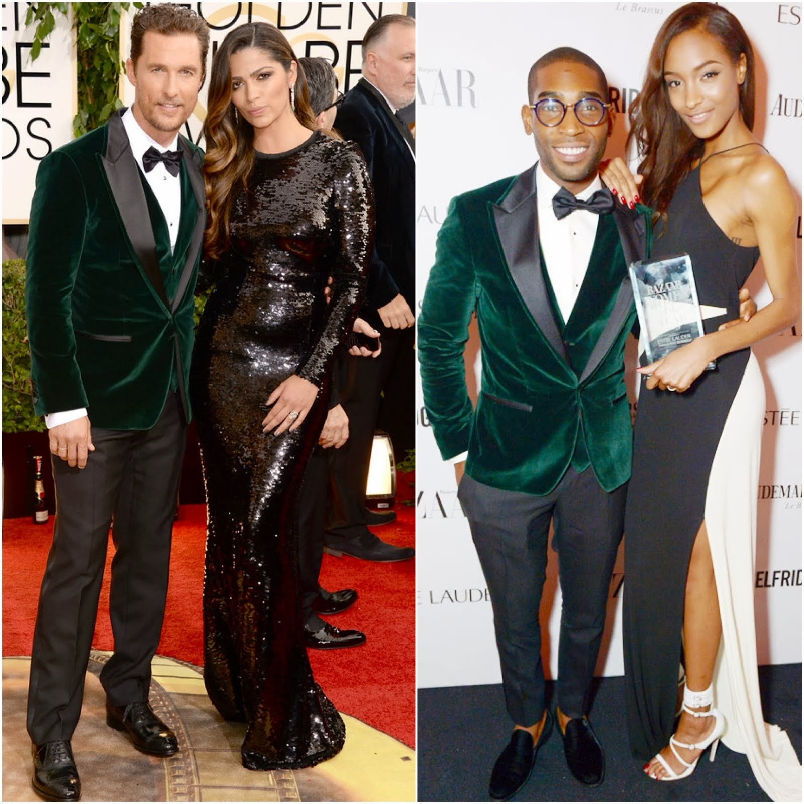 Matthew McConaughey in Dolce & Gabbana - 71st Annual Golden Globe Awards