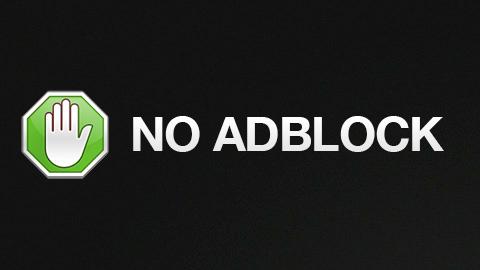 Please Disable Ad-block