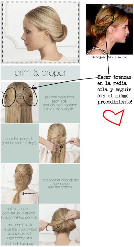Sophie news tutorial peinado con trenza 2 - Tutorial de peinados ...