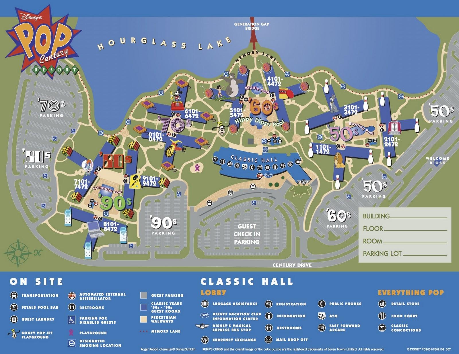Walt Disney World Travel Walt Disney World Maps