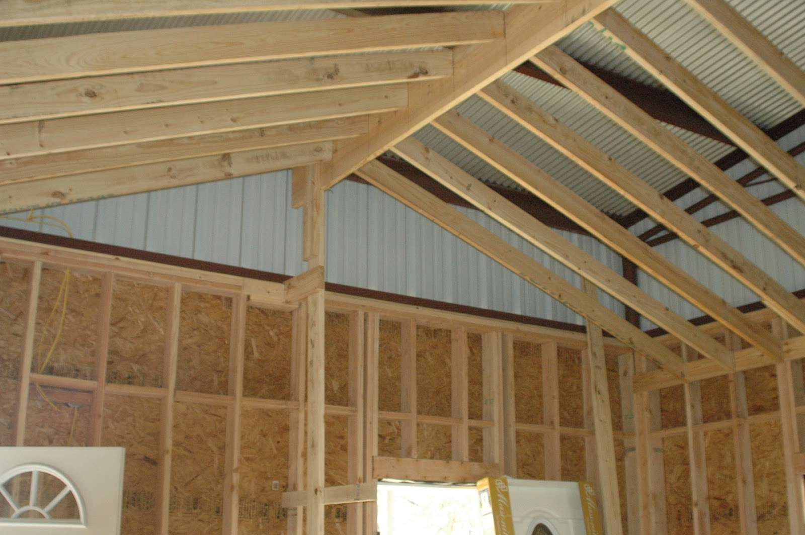Christie texas homestead christmas 2011 and january 2012 for Vaulted ceiling plans