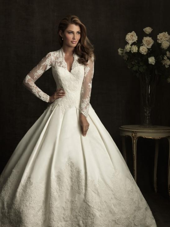V Neck Wedding Dresses With Sleeves : Bridal dresses uk sexy v neck wedding gowns