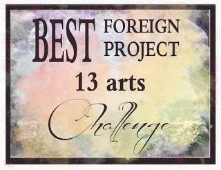 13 arts Challenge Winner