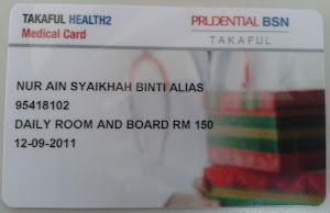 Kad Perubatan TAKAFUL HEALTH2 Mempunyai Lebih 70 Buah Panel Hospital Pakar Di Malaysia