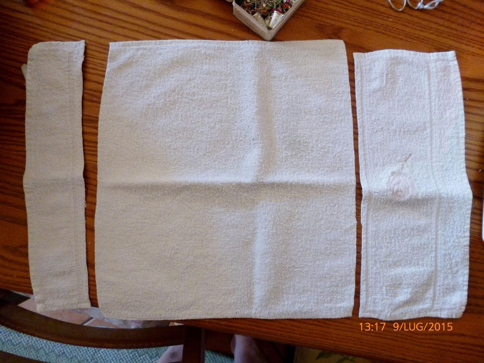 Popolare _-*-_-*- Gatta Creativa -*-_-*-_: I vecchi asciugamani non si  EL11