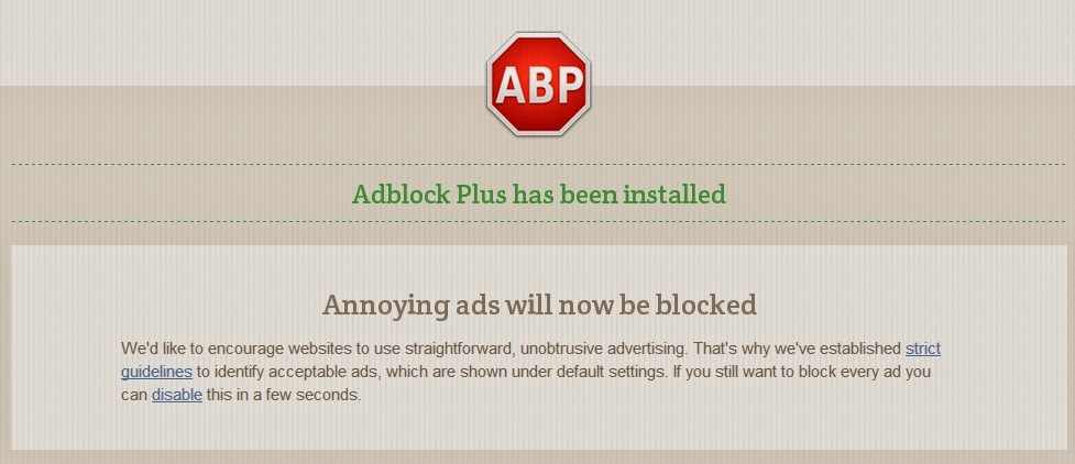 Block Annoying Ads in Google Chrome with Adblock Plus