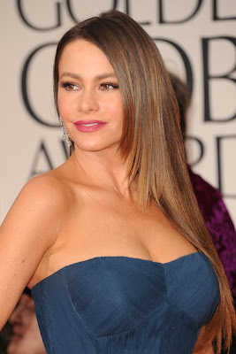 Sofia Vergara Long Straight Cut Hairstyle Lookbook