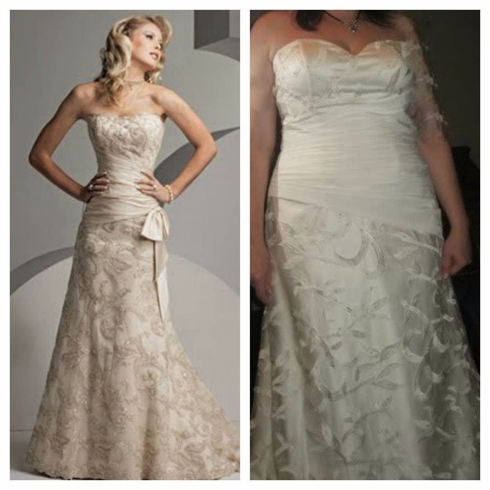 About a girl online shopping fails for Ordering wedding dresses online