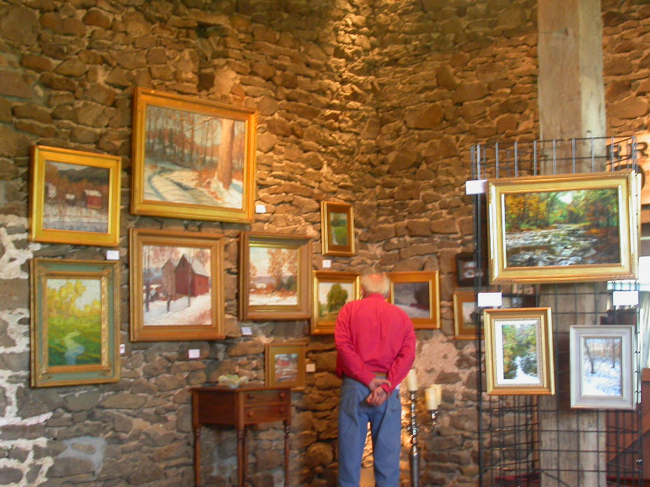 Chapman Gallery Traditional Artist Of Bucks County At