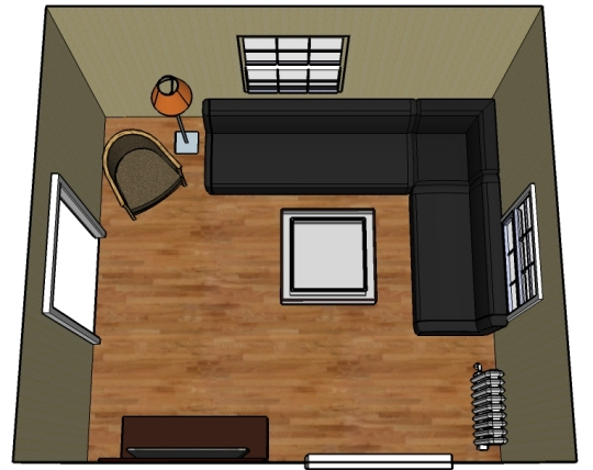 Living room interior design small living room ideas for Small living room layout