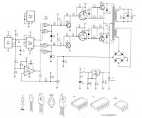 CIRCUIT DIAGRAM | SKEMA RANGKAIAN | ELEKTRONIKA: CIRCUIT 300W INVERTER