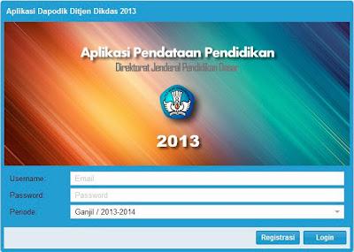 Dapodik 2013, Aplikasi Dapodik, Dapodik Terbaru