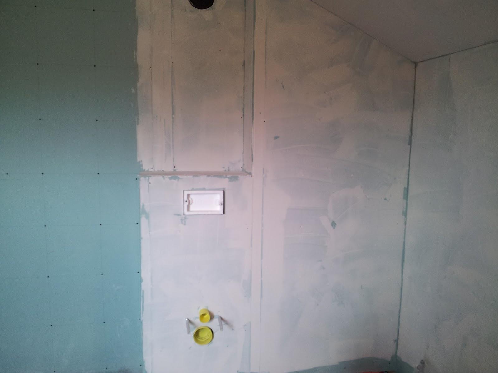 Unser traum pro haus decken w nde sind verputzt netzwerk schaltschrank sind gesetzt - Fi schalter badezimmer ...