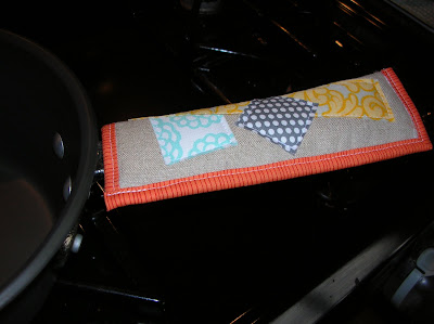 Quilted pan handle