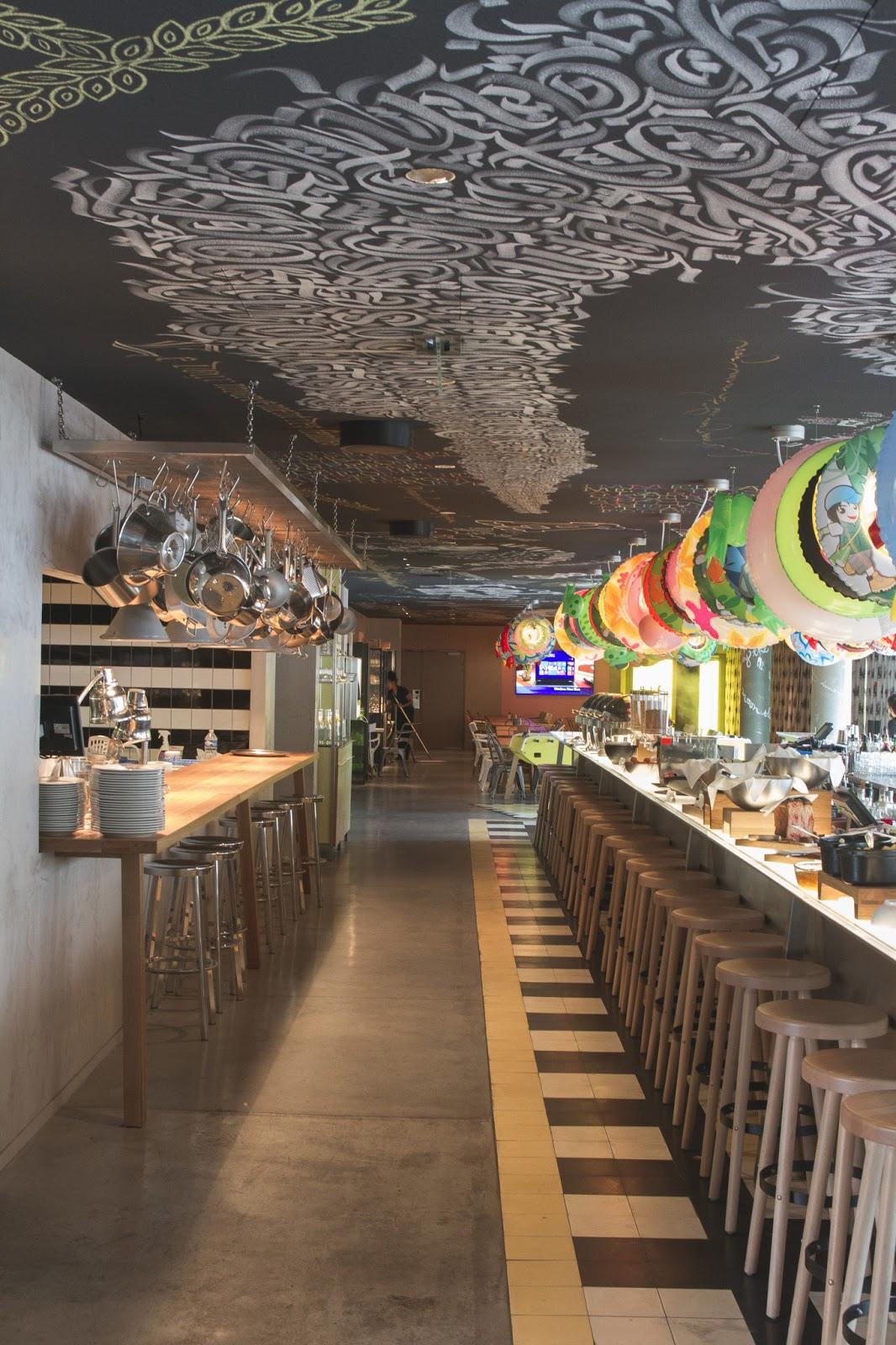 Decoration Restaurant Lyon : Mama shelter lyon percentpure