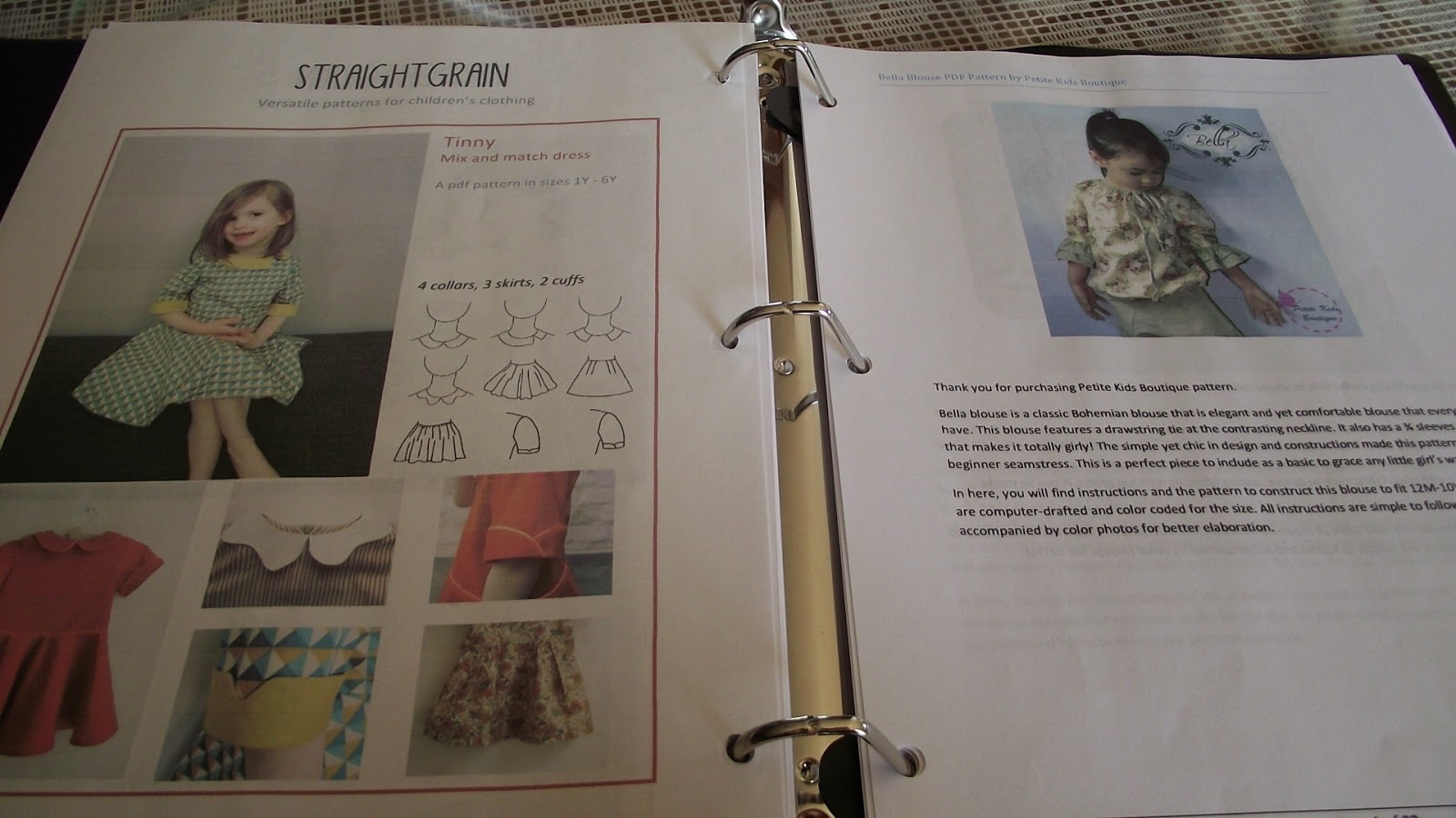 Organizing PDF Patterns with Fabulous Home Sewn at GYCT Sizzlin' Summer