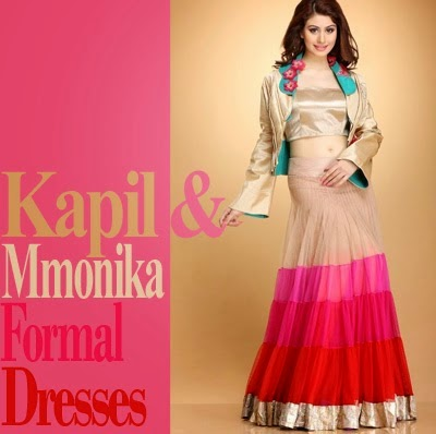Kapil and Mmonika Brides Formal Wear Dresses
