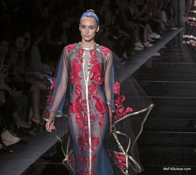 reem acra fashion show