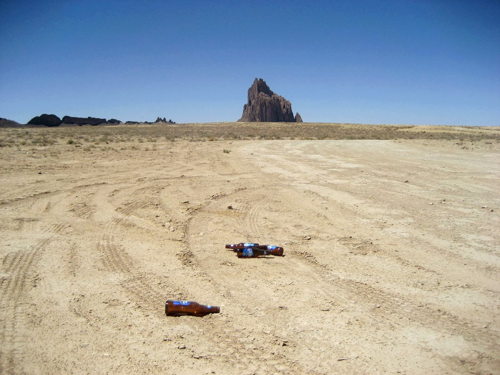Beer Bottles, Shiprock, New Mexico
